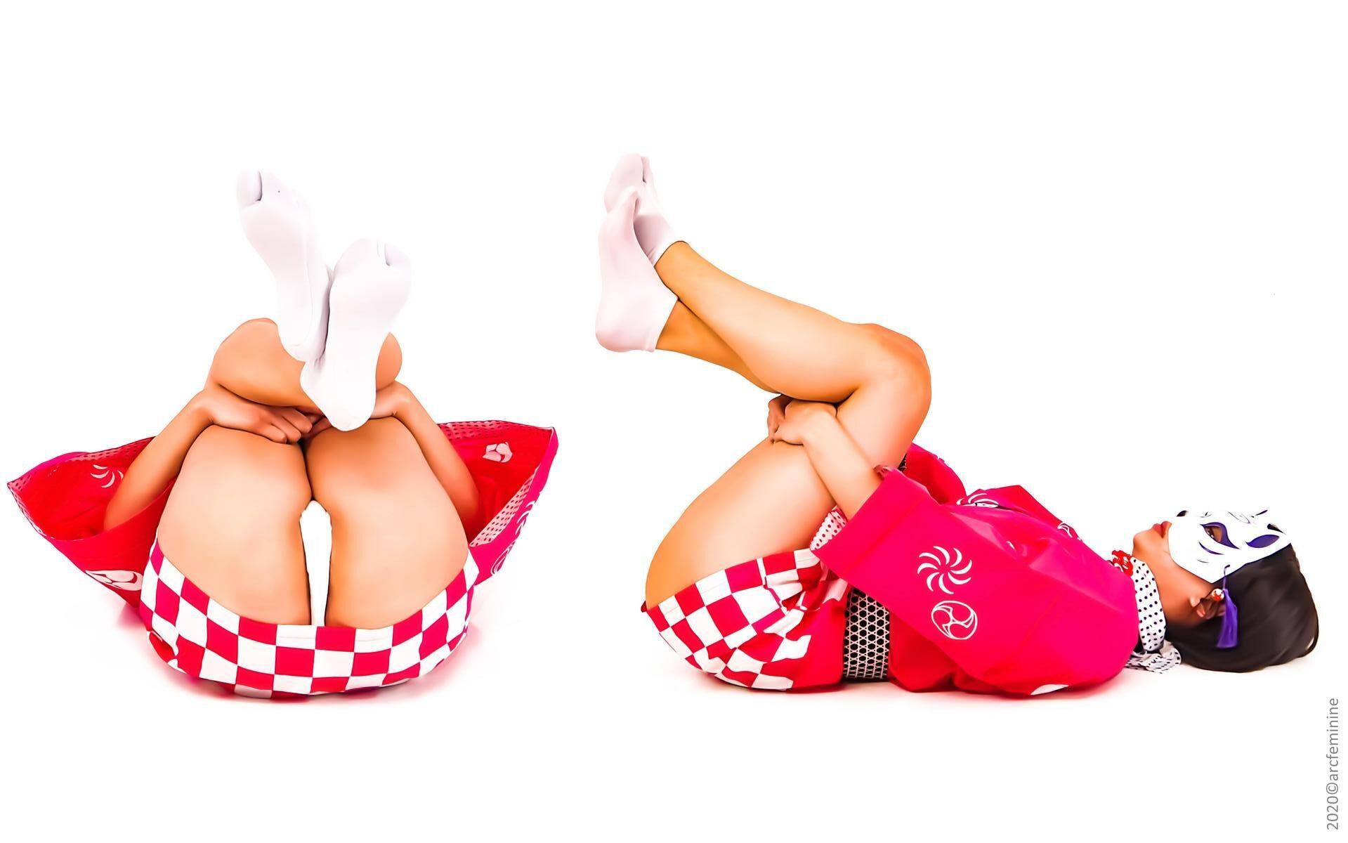 多角度ポーズ資料集「伝統的足袋ふんどし」 MULTIANGLE GIRL 279photos