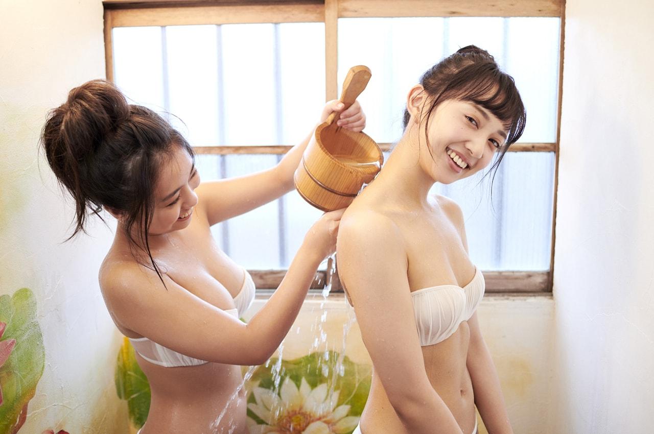 WPB-net Extra EX739 小宮有紗 大原優乃「姉妹日和」 84photos